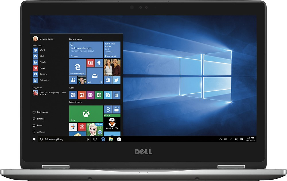 Dell - Inspiron 2-in-1 13.3 Touch-Screen Laptop